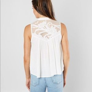 Free People Tops - Free people sleeveless Henley